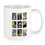 FamousArtSchnauzers (clr) Mug