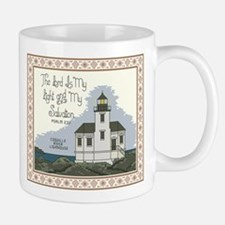 Coquille River Lighthouse with Bible Verse Mug