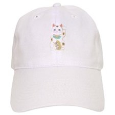 Japanese Lucky Cat Baseball Cap