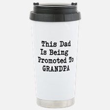 Grandpa Promotion Stainless Steel Travel Mug