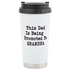 Grandpa Promotion Travel Mug