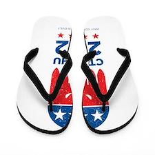 Vintage Cthulhu 2012 Flip Flops