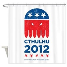 Vintage Cthulhu 2012 Shower Curtain