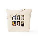 Famous Art Bichon (clr) Tote Bag
