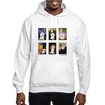 Famous Art Bichon (clr) Hooded Sweatshirt