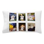 Famous Art Bichon (clr) Pillow Case