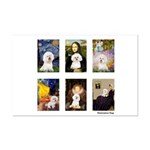 Famous Art Bichon (clr) Mini Poster Print