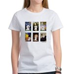 Famous Art Bichon (clr) Women's T-Shirt