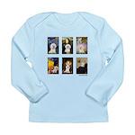 Famous Art Bichon (clr) Long Sleeve Infant T-Shirt