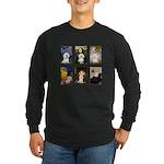 Famous Art Bichon (clr) Long Sleeve Dark T-Shirt
