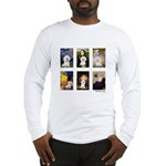 Famous Art Bichon (clr) Long Sleeve T-Shirt