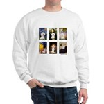 Famous Art Bichon (clr) Sweatshirt
