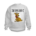 Dog Did It Kids Sweatshirt