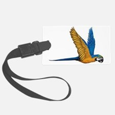 Flying Macaw Parrot Bird Luggage Tag