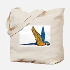 Flying Macaw Parrot Bird Tote Bag
