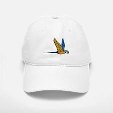 Flying Macaw Parrot Bird Baseball Baseball Cap