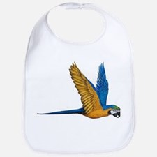 Flying Macaw Parrot Bird Bib