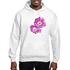 2 Pink Cactus Flowers Hoodie