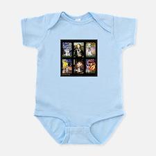 FamourArtSchnauzers 1 Infant Bodysuit