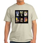 FamourArtSchnauzers 1 Light T-Shirt