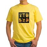 FamourArtSchnauzers 1 Yellow T-Shirt