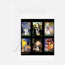 FamourArtSchnauzers 1 Greeting Cards (Pk of 10)