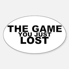 The Game Sticker (Oval)