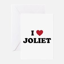 I Love Joliet Illinois Greeting Cards (Pk of 20)