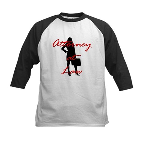 Attorney at Law Kids Baseball Jersey