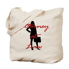 Attorney at Law Tote Bag