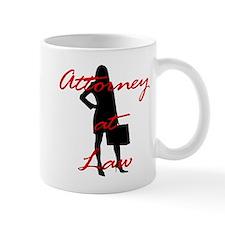 Attorney at Law Small Mug