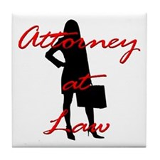 Attorney at Law Tile Coaster