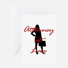 Attorney at Law Greeting Card