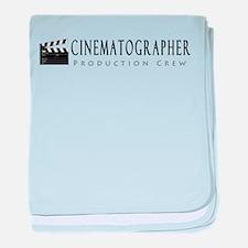 Cinematographer baby blanket