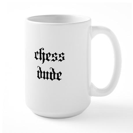 Chess Dude Large Mug