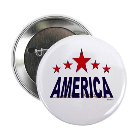 """America 2.25"""" Button (10 pack)"""
