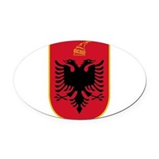 Albania Coat Of Arms Oval Car Magnet