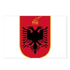 Albania Coat Of Arms Postcards (Package of 8)