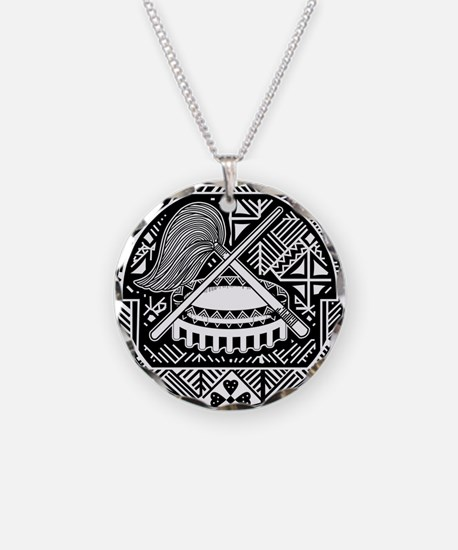 American Samoa Coat Of Arms Necklace