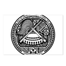 American Samoa Coat Of Arms Postcards (Package of