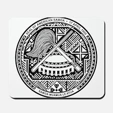 American Samoa Coat Of Arms Mousepad