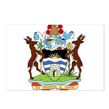 Antigua and Barbuda Coat Of Arms Postcards (Packag