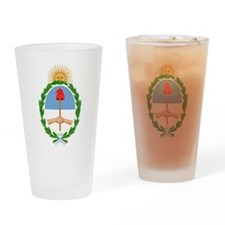 Argentina Coat Of Arms Drinking Glass