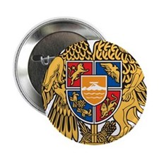"Armenia Coat Of Arms 2.25"" Button"