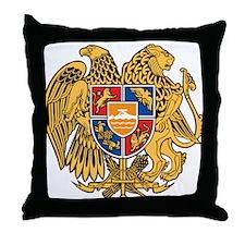 Armenia Coat Of Arms Throw Pillow