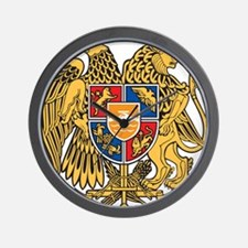 Armenia Coat Of Arms Wall Clock