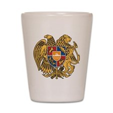 Armenia Coat Of Arms Shot Glass
