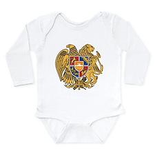 Armenia Coat Of Arms Long Sleeve Infant Bodysuit
