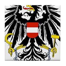 Austria Coat Of Arms Tile Coaster