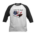United We Stand Support our t Kids Baseball Jersey